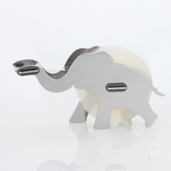 dispensador de cinta en forma de elefante
