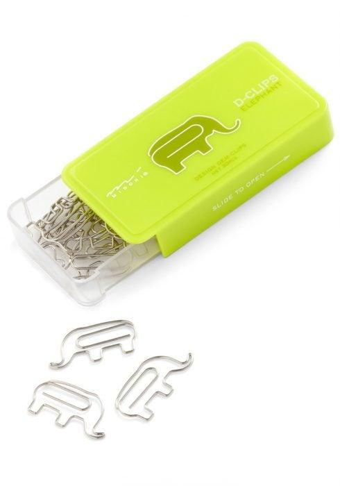 clips en forma de elefante