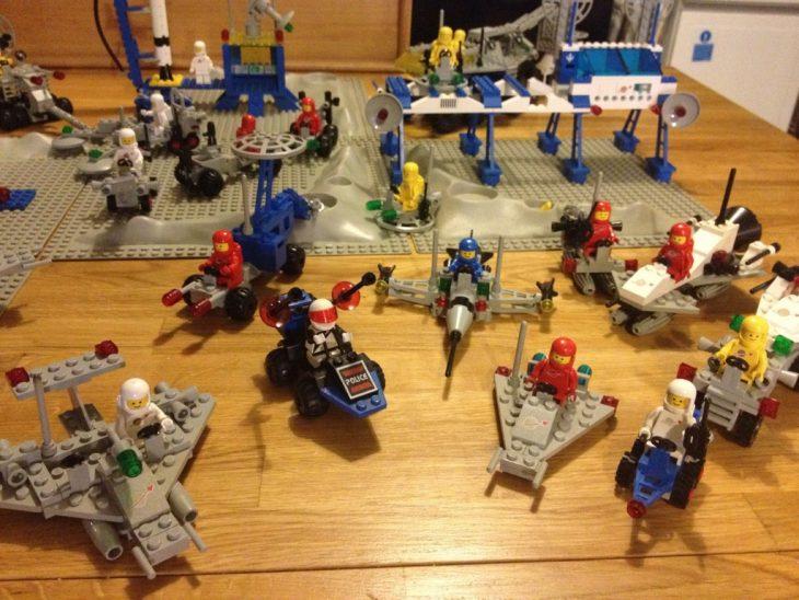 nave espacial de Legos