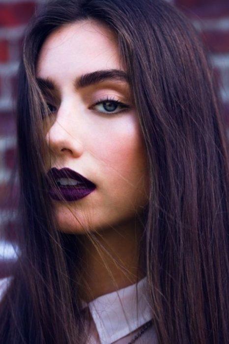chic maquillaje gotico