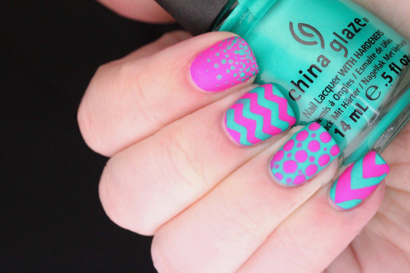 20 diseños de decoración para uñas que son cortas