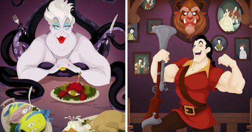 villanos de Disney con finales felices