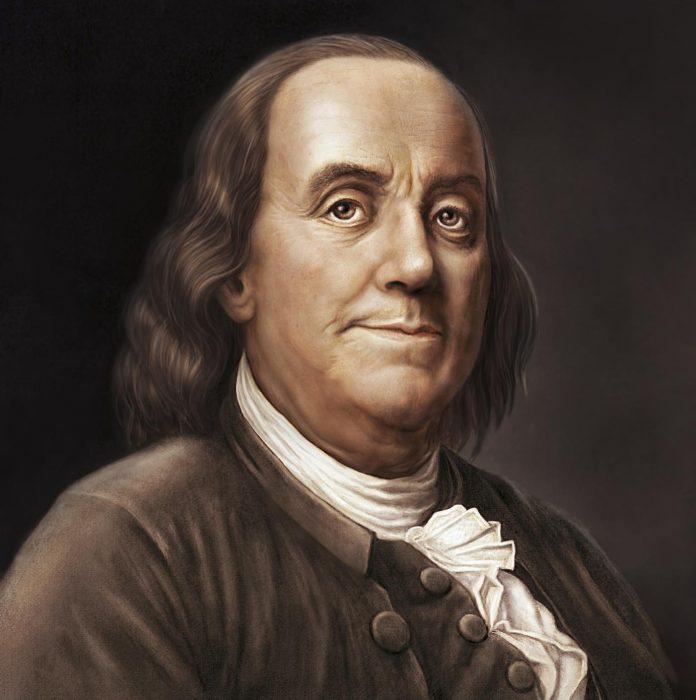 retrato Benjamin Franklin