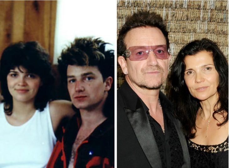 bono y su esposa antes y después