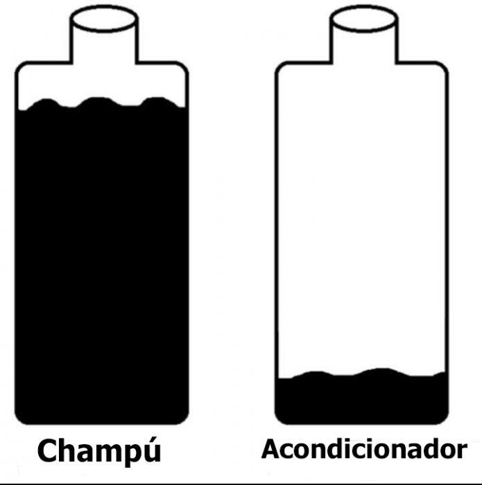 champú y acondicionador