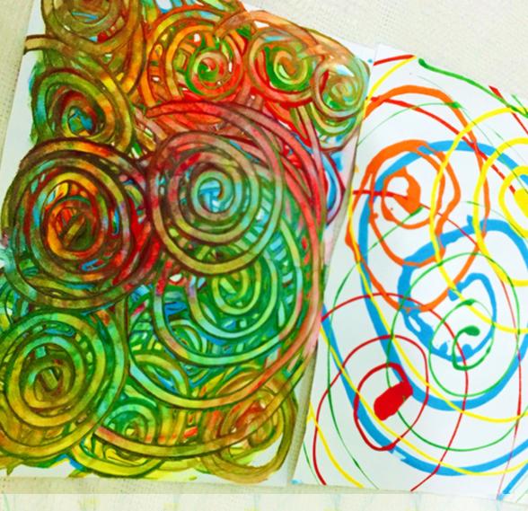 Dibujo de espirales