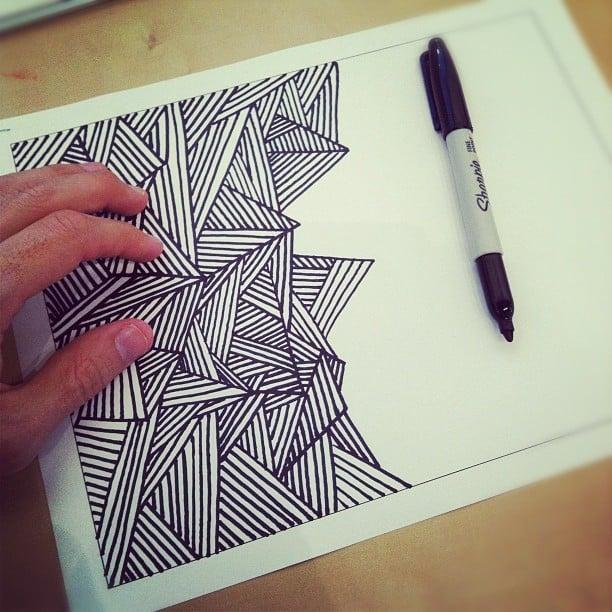 Dibujo de líneas