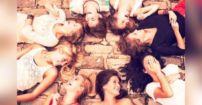 grupo de amigas