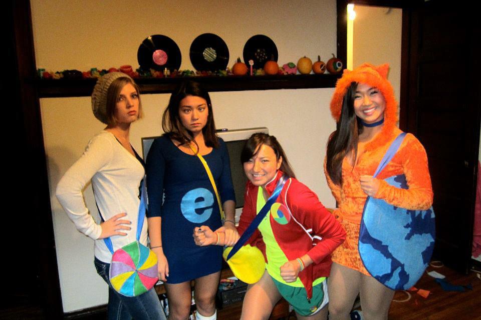 30 Disfraces para usar con tus amigas en este Halloween