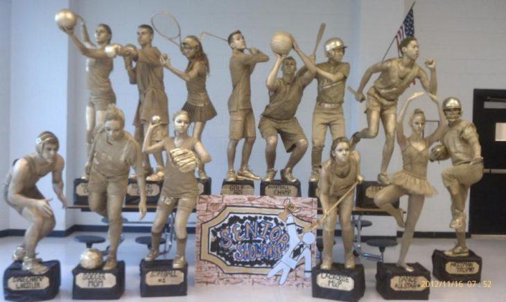 disfraz trofeos antiguos