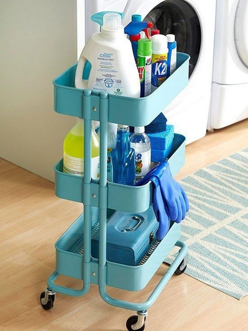 30 ingeniosas formas de mantener organizados tus espacios for Productos para cocina