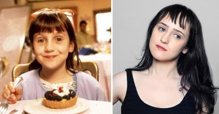 Esto es lo que pasó con los personajes de Matilda