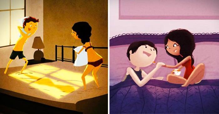 25 Ilustraciones que demuestran lo que es amar cada día