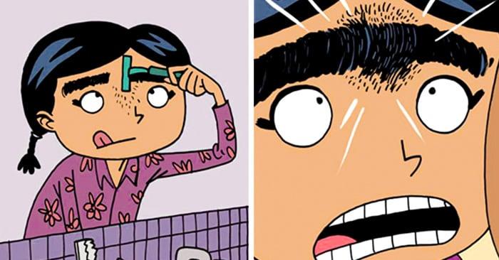 Frida es extraña como yo: Un cómic para niños inspirado en Frida Kahlo