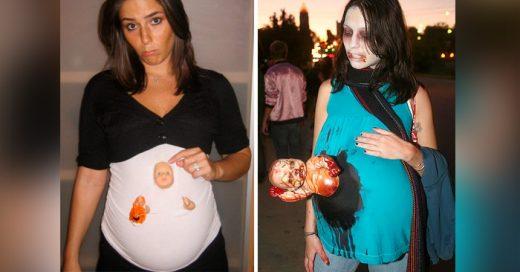 25 Creativos disfraces que las embarazadas deben usar en Halloween
