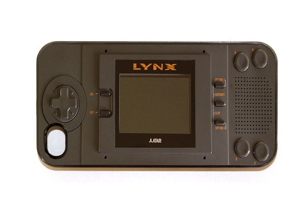 funda retro para celular que es un juego LYNX