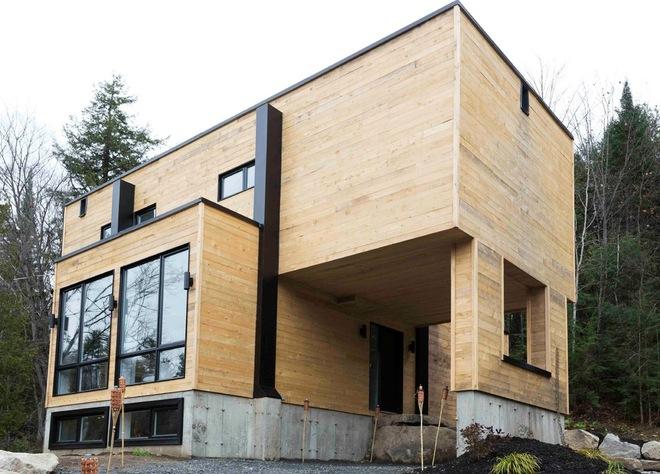 Casa hecha con contenedores marítimos