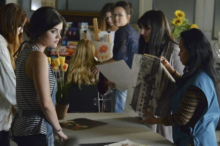 Escena de la serie Pretty Little liars