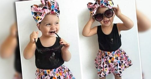 Avaya Hugo es la adorable y ahora famosa bebé que está revolucionando la red social con sus atuendos totalmente trendy