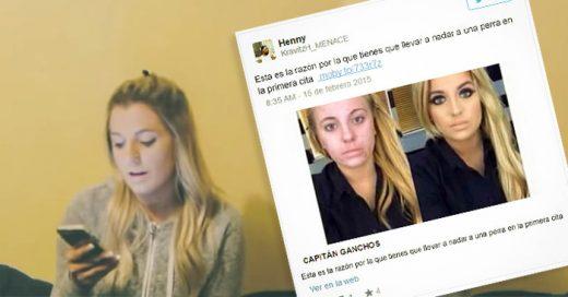 La respuesta de esta chica al ver que su foto se convirtió en viral