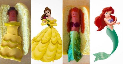 Anna Hezel y Gabriella Paiella son los cerebros detrás de este divertido proyecto de reimaginarse Las Princesas de Disney en su comida favorita