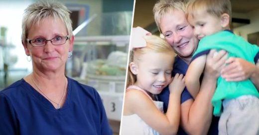 Emotivos Momentos de esta enfermera al ver su trabajo dando frutos