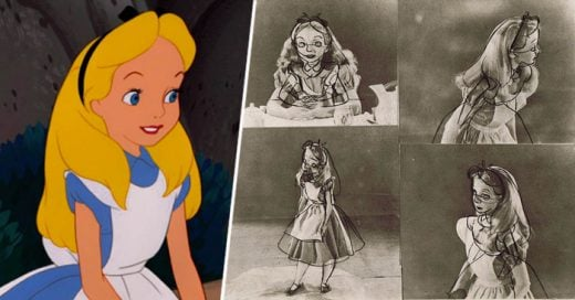 Una muestra de todo el proceso creativo de los animadores de Alicia en el País de las maravillas