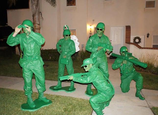 Disfraz de soldados de juguete de toy story
