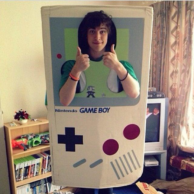 Disfraz de juego game boy