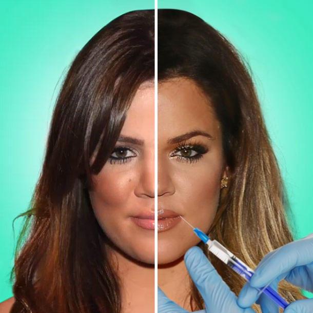 Khloé Kardashian evolución