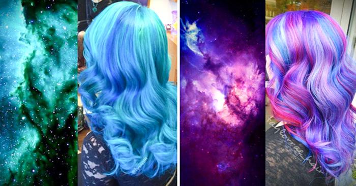 """ideas para usar """"cabello cosmico"""""""