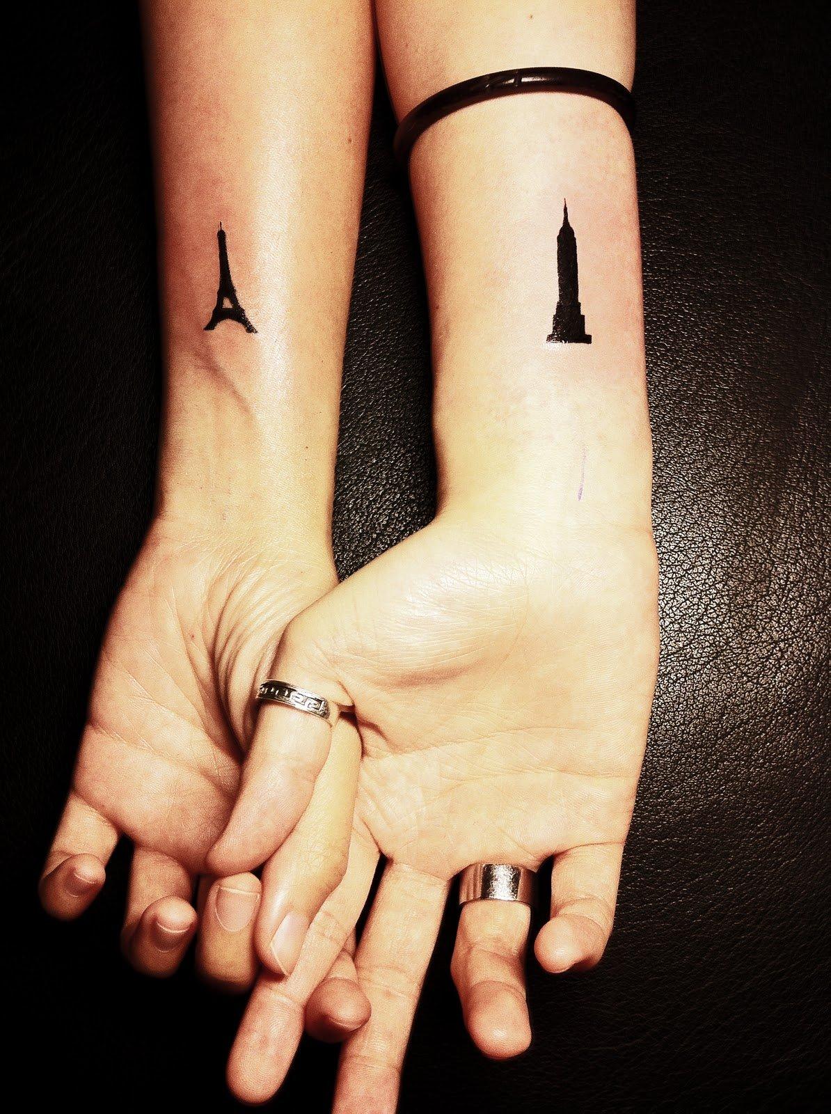 30 Fotos De Ideas De Tatuajes Para Las Parejas Enamoradas - Tatuaje-parejas