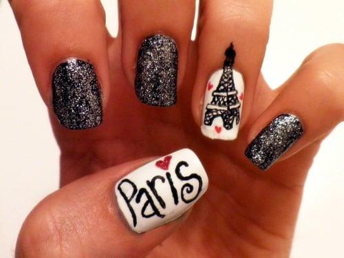 15 Diseños Fáciles Para Decorar Tus Uñas Inspirados En París