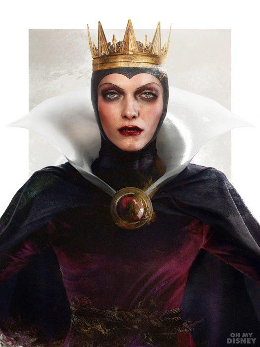 La reina malvada de Blancanieves en su versión realista