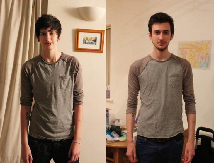 Jamie Raines antes y después