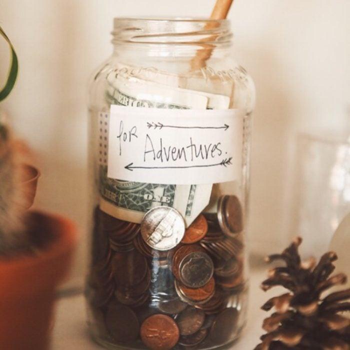 jarro de ahorros