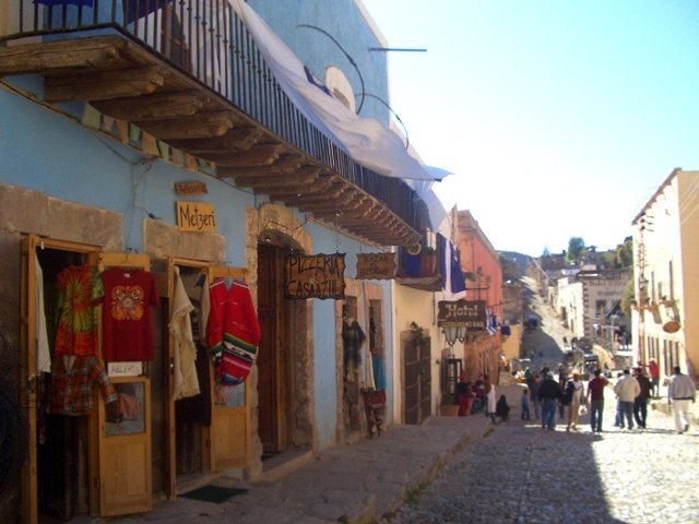 calle de Real de Catorce