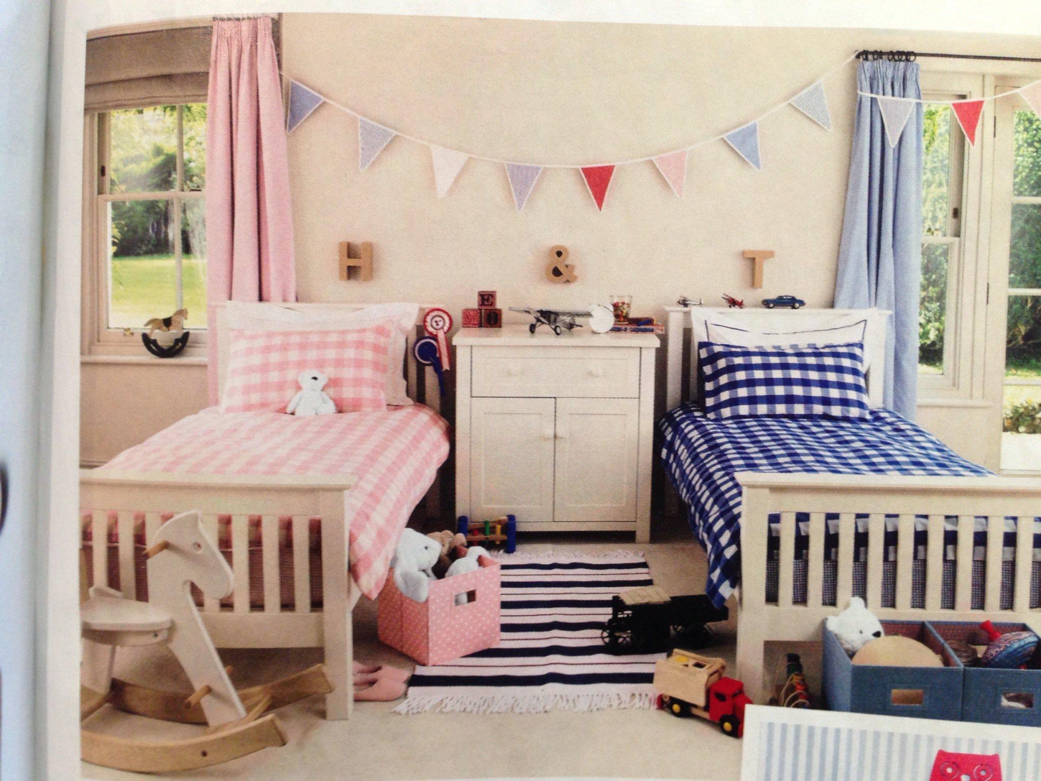 Ideas para dise ar una habitaci n compartida por ni o y ni a - How to decorate a boy and girl room together ...
