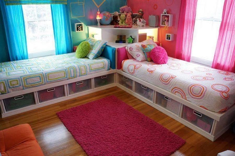 camas para nio y nia en el mismo cuarto