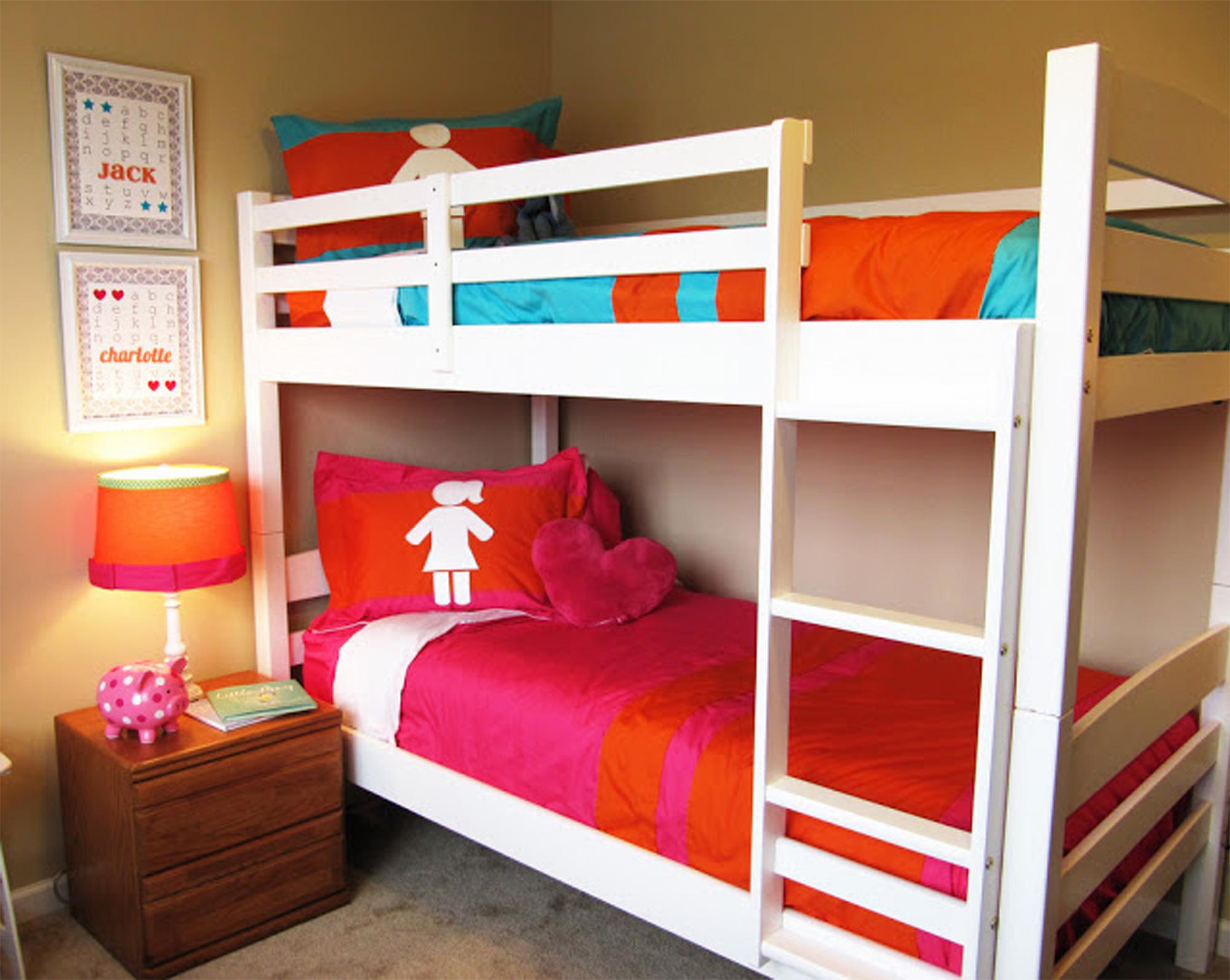 Ideas para dise ar una habitaci n compartida por ni o y ni a for Habitacion para adultos completa barata