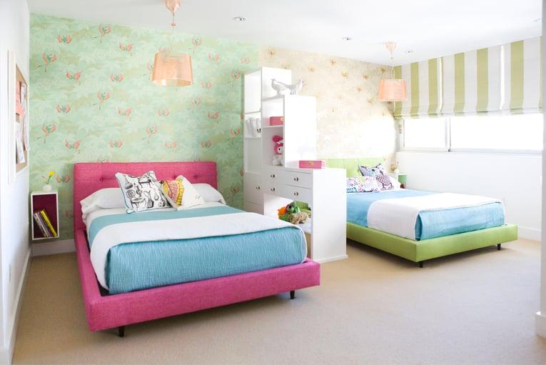 Ideas para dise ar una habitaci n compartida por ni o y ni a - Habitacion para nino ...