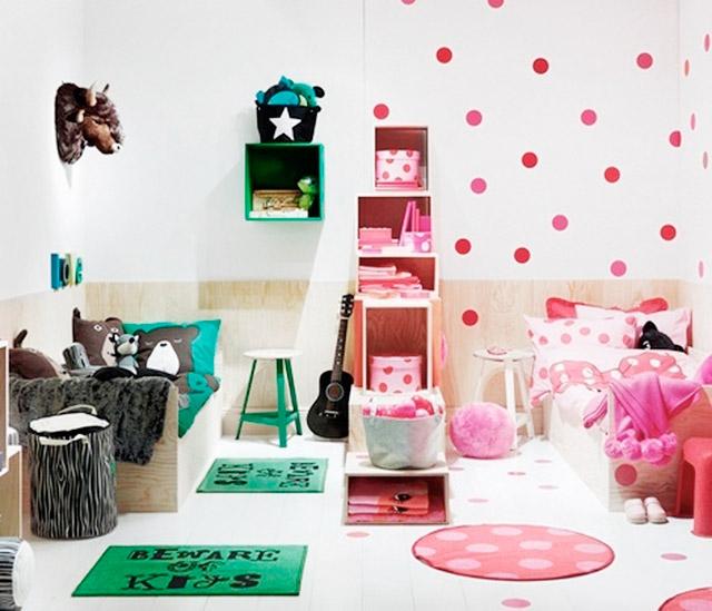 Ideas para dise ar una habitaci n compartida por ni o y ni a - Ideas para decorar habitacion de nina ...