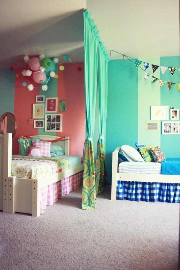 gallery of camas para nio y nia en el mismo cuarto with ideas para decorar la habitacin