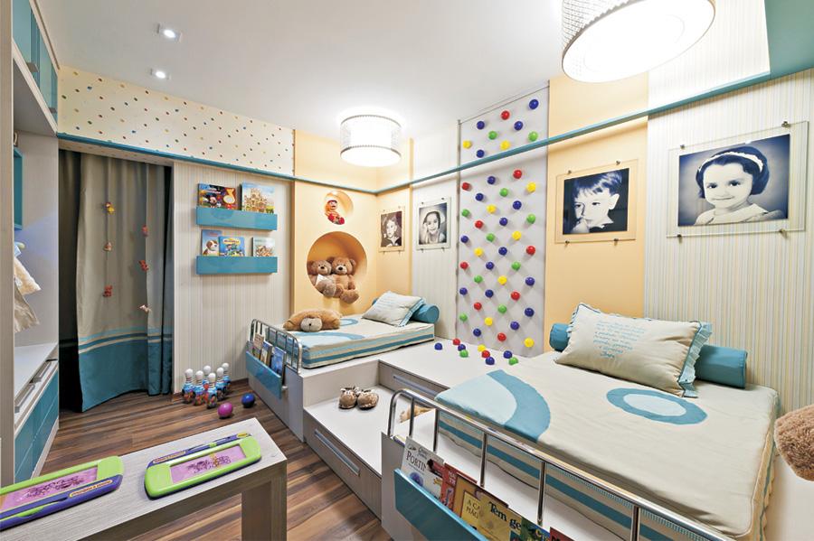 Ideas para dise ar una habitaci n compartida por ni o y ni a - Habitacion nino y nina ...