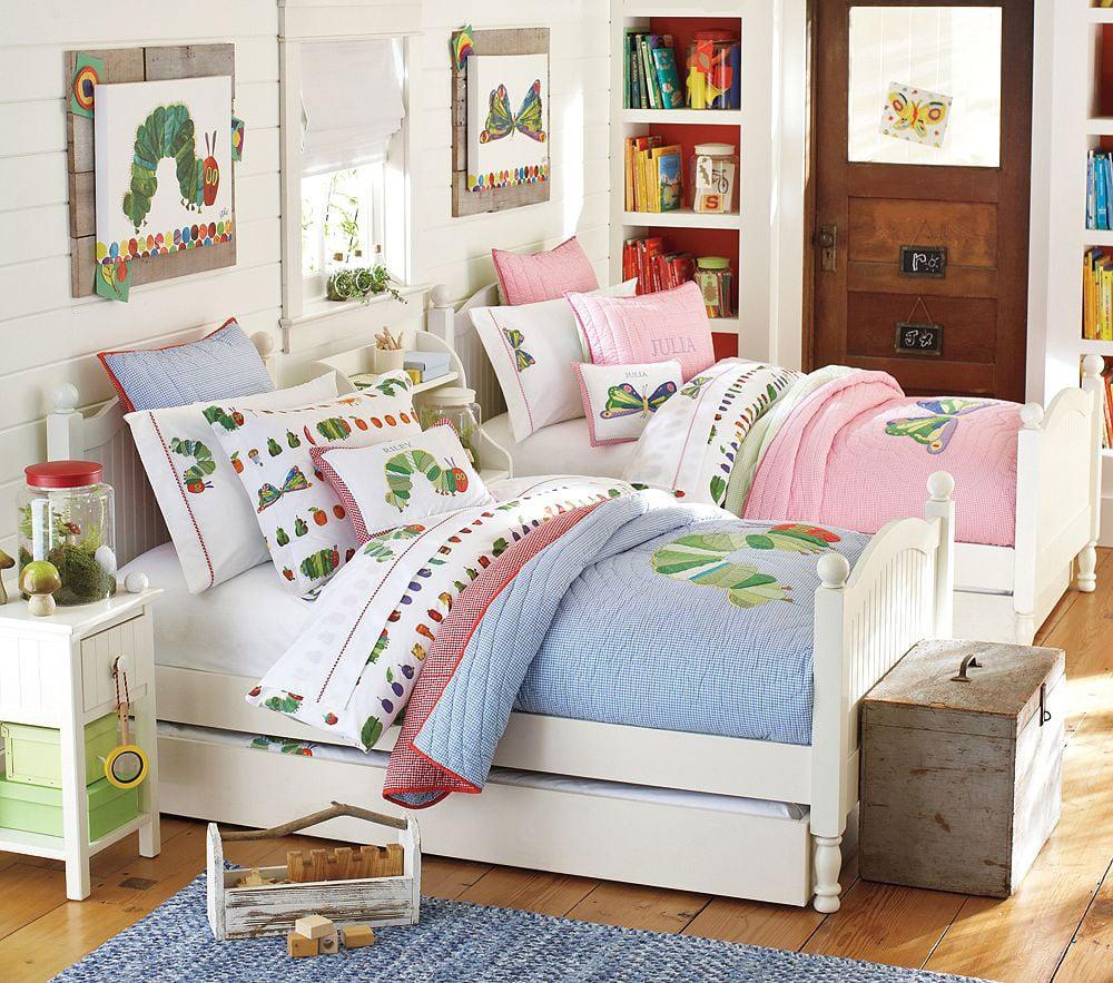 Ideas para dise ar una habitaci n compartida por ni o y ni a for Como disenar una habitacion