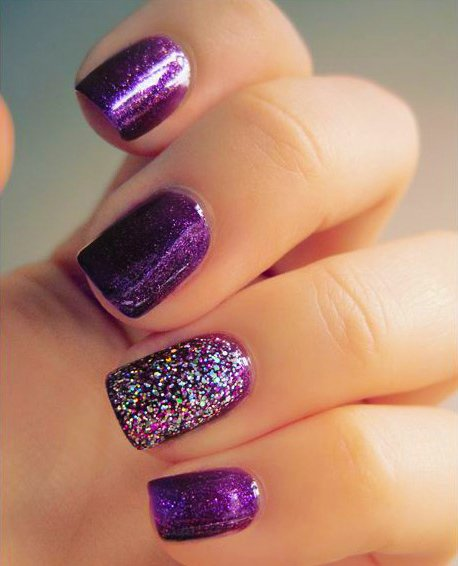 15 dise os para lucir unas elegantes u as color morado