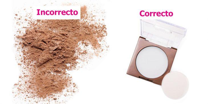 Maneras correctas e incorrectas de aplicar maquillaje