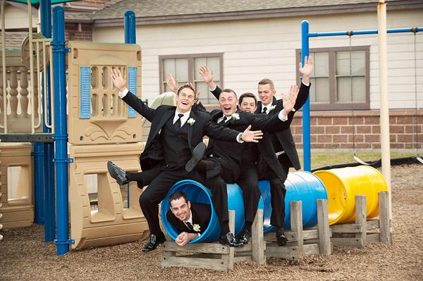 padrinos de boda en juego infantil