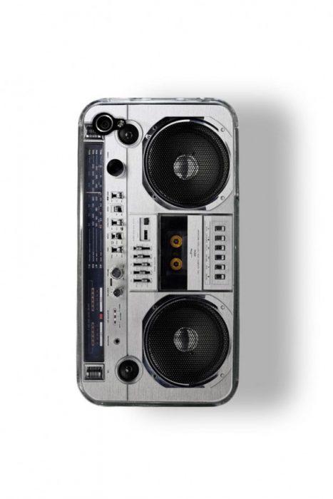 Funda para celular que es una grabadora