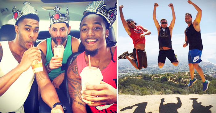 hombres parodian las fotos que suben las mujeres a Instagram